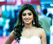 Pranitha Subhash escapes unhurt in a road mishap