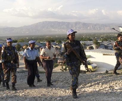 'Women make very good peacekeepers'