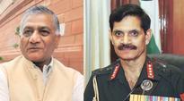 Govt steps in as Suhag Vs VK Singh battle rages again