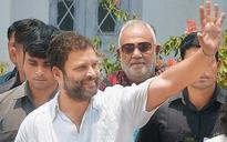 Birthday bash, Rahul Gandhi style
