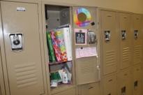 Locker reflects student life