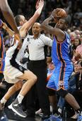 NBA admits to blowing 5 calls at end of Spurs-Thunder game