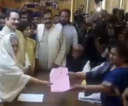 Jaya files nomination for Rajya Sabha