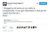 'Dhoni looks better than Sushant': Rajat Kapoor plays victim post backlash