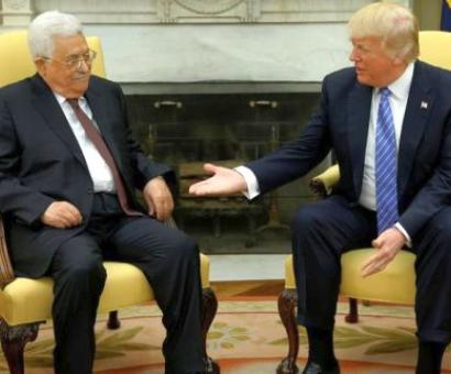 Trump vows to work as 'mediator' for Israeli-Palestinian peace