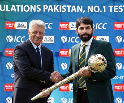 'Ironic that journey to the number one has been made outside Pakistan'