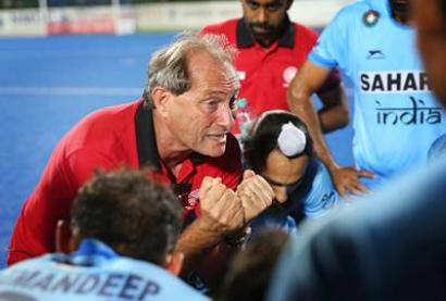 Indian hockey team's performance getting better: coach Oltmans