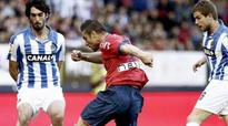 Europe hopefuls Real Sociedad held to 0-0 draw at Osasuna