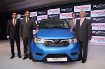 Mahindra launches electric car e2oPlus