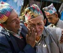 Tearful and Mammoth gathering farewell to Ex CM NB Bhandari