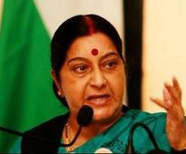 Sushma loses cool after man requests for wife's transfer