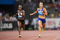 Thompson outsprints Schippers to win 200-meter race at Weltklasse Diamond League meet