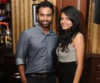 Shankar and Manu were all smiles partying on ladies night at 10 D in Chennai