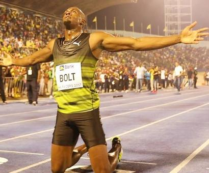 Fireworks in Jamaica as Bolt wins final 100 metres race on home soil