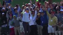Kuchar's perfect Tiger Woods impression