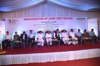 Anant Geete Inaugurates The Test Track Facility for The Automotive-OEM for Automotive Manufacturers at Chennai