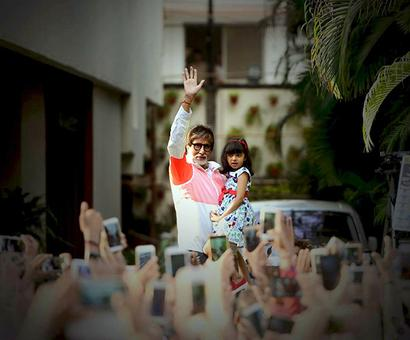 When Big B lost brownie points from Aaradhya