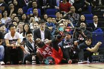 Rockets beat Pelicans in spirited China exhibition
