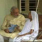 PM Modi, in Gujarat for global summit, skips yoga to meet mother