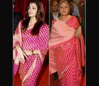 Aishwarya, Jaya Sported Same Sari at Different Events! Other Copy-Cat Moments of B'town Ladies