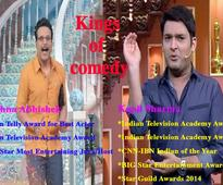 Kapil Sharma and Krushna Abhishek; the Laurel and Hardy of Indian television, well almost