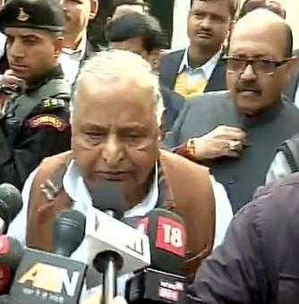 No rift between me and my son, says Mulayam Singh