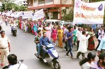 Madkaikars rally against replacement of idol