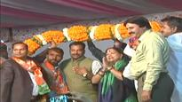 Poll-bound: CM Vasundhara Raje travels across constituencies for campaigning