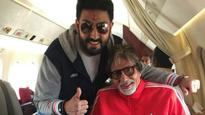 Happy Birthday Abhishek Bachchan: Paa Amitabh Bachchan's adorable message will make you want to hug your father