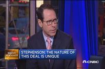 Time Warner trading at deep discount to AT&T's offer as investors see regulatory hurdles