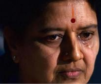 VK Sasikala granted 15-day parole for husband's funeral