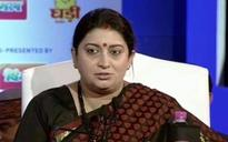 Smriti Irani spares Rahul Gandhi on his father's death anniversary, says Achhe Din are already here