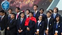Vietnam wins prizes at Intel science fair for school students