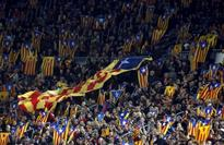 Soccer-Barcelona condemn nationalist flag ban in Cup final