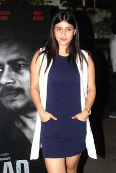 PIX: Manara Chopra, Jackie Shroff watch short film Azaad