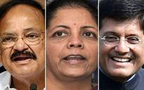 BJP names Venkaiah, Piyush, Nirmala, 9 others for Rajya Sabha seats