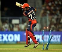 IPL 2018: Virat undone by Boult's blinder, ABD hits 50; RCB 108-3 in 12