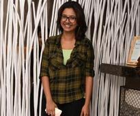 Sakthishree Gopalan was seen having fun partying on Wednesday night at Bay 146 in Chenni