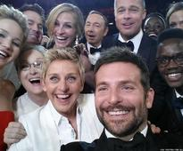 Ellen's Oscar Selfie Named to Time's List of 100 Most Influential Photos