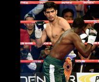 Vijender Singh packs Francis Cheka a punch: Twitterati hail India's champion boxer