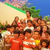 Watch: Tiger Shroff having a blast with children while shooting for Sony YAY!