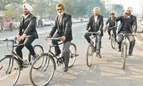 Babus pedal to work, judges carpool for a pollution-free Patiala