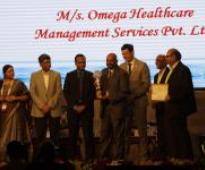 Omega Healthcare Management Services Pvt Ltd Awarded the STPI (Software Technology Parks of India) Karnataka IT Exports Award, 2016