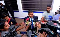 Sri Lanka arrive for Zim tour