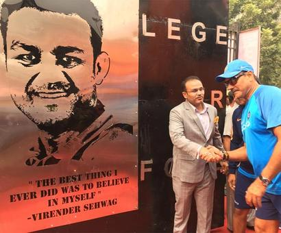 'Virender Sehwag Gate' to welcome fans at Delhi's Kotla stadium