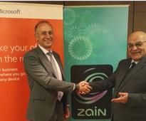 Zain group selected as preferred Microsoft Azure partner