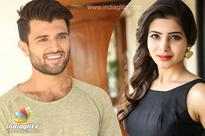 Vijay Devarakonda as Samantha's pair&#63
