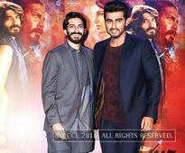 'Mirzya' cast bonds over dinner in Mumbai