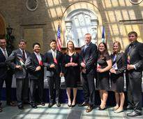 Ten New Agricultural Officers Sworn Into Foreign Service