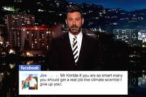 WATCH: Jimmy Kimmel hilariously skewers online criticism of his anti-Palin video